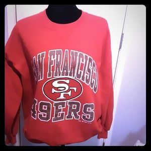 49ers sweat shirt